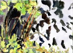 2009, Aquarell, 21x28,5 cm